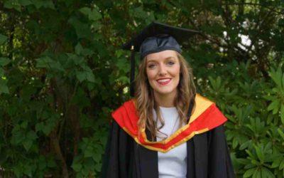 Dr Sarah Cameron Graduation Ceremony